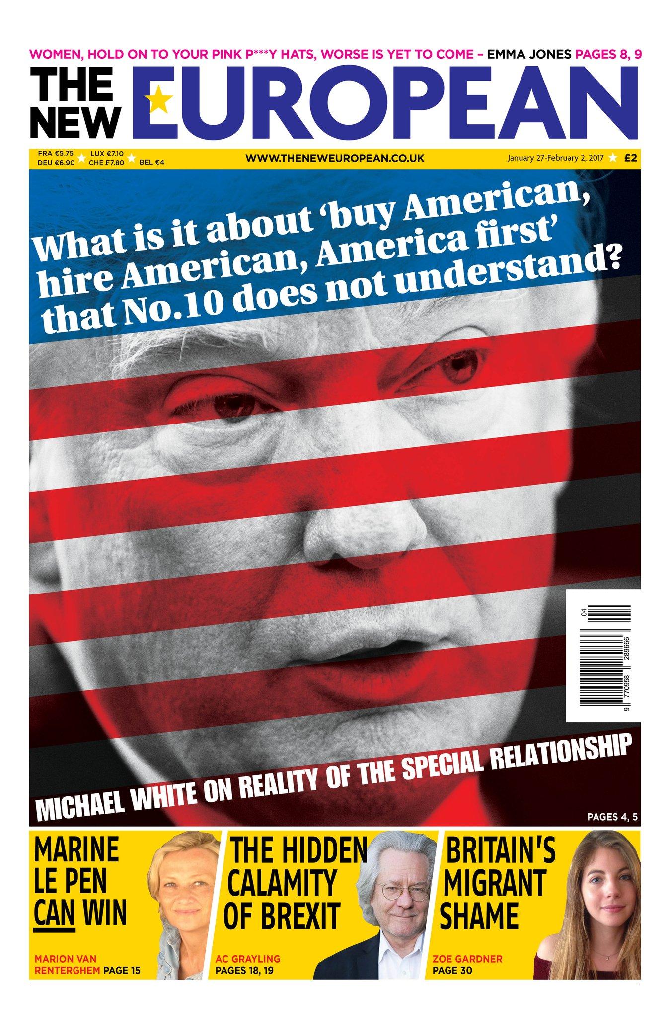 The New European, el periódico impreso que triunfa en Reino Unido