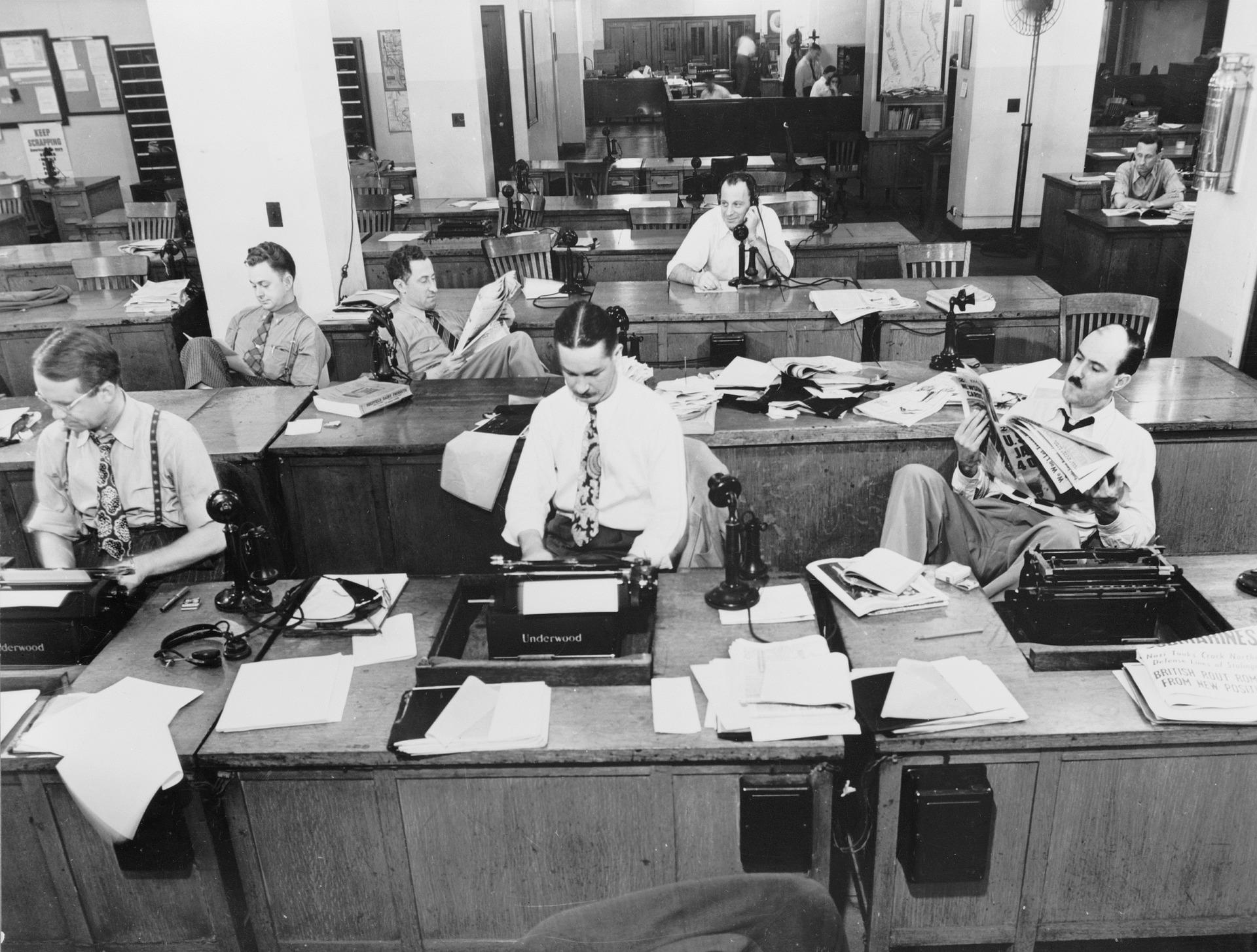 Cómo se reinventan las redacciones en la era digital