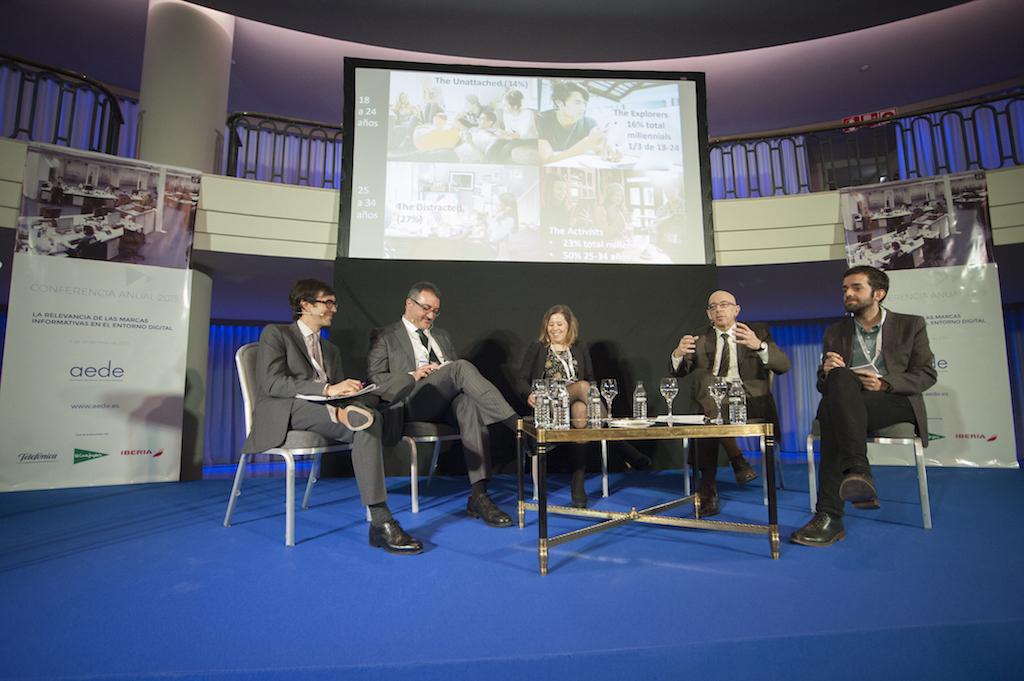 Los editores de prensa españoles se reúnen en la Conferencia Anual de AEDE