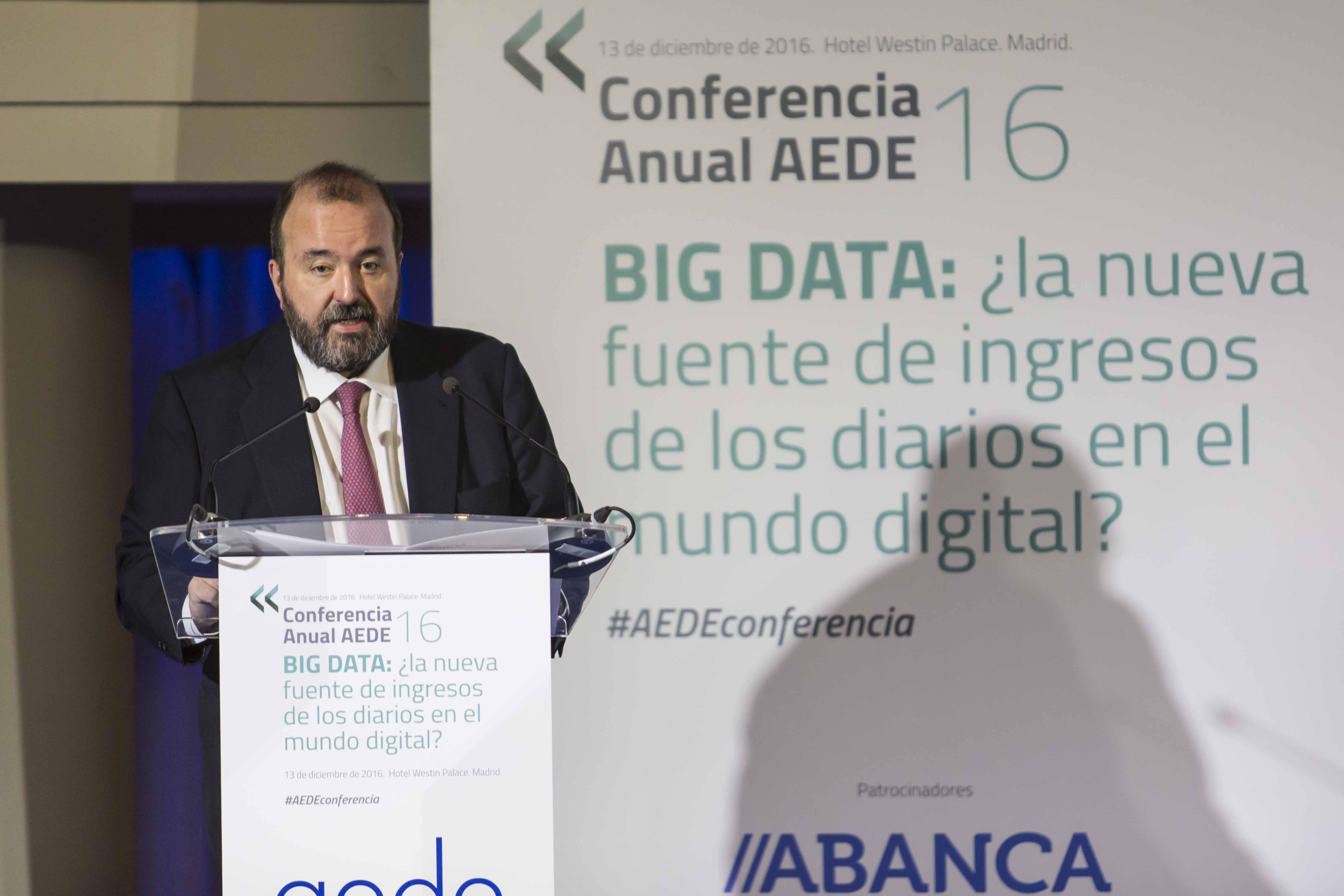 Así han contado los medios la Conferencia Anual AEDE 2016