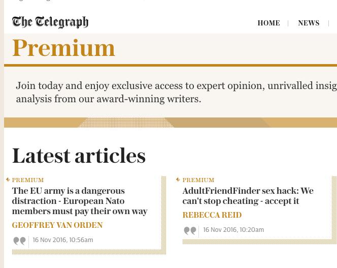 """Contenidos de pago: el cambio """"The Telegraph"""""""