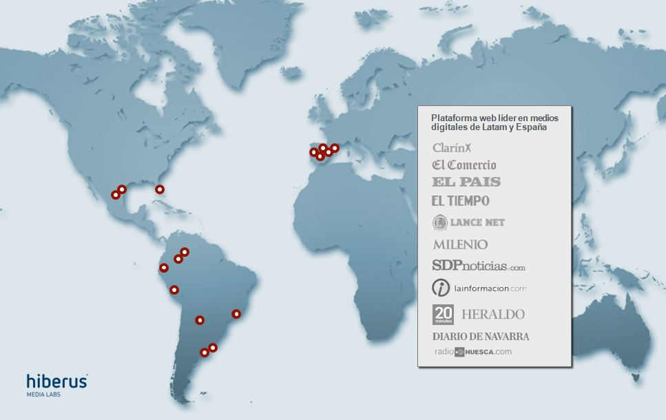 mapa hiberus