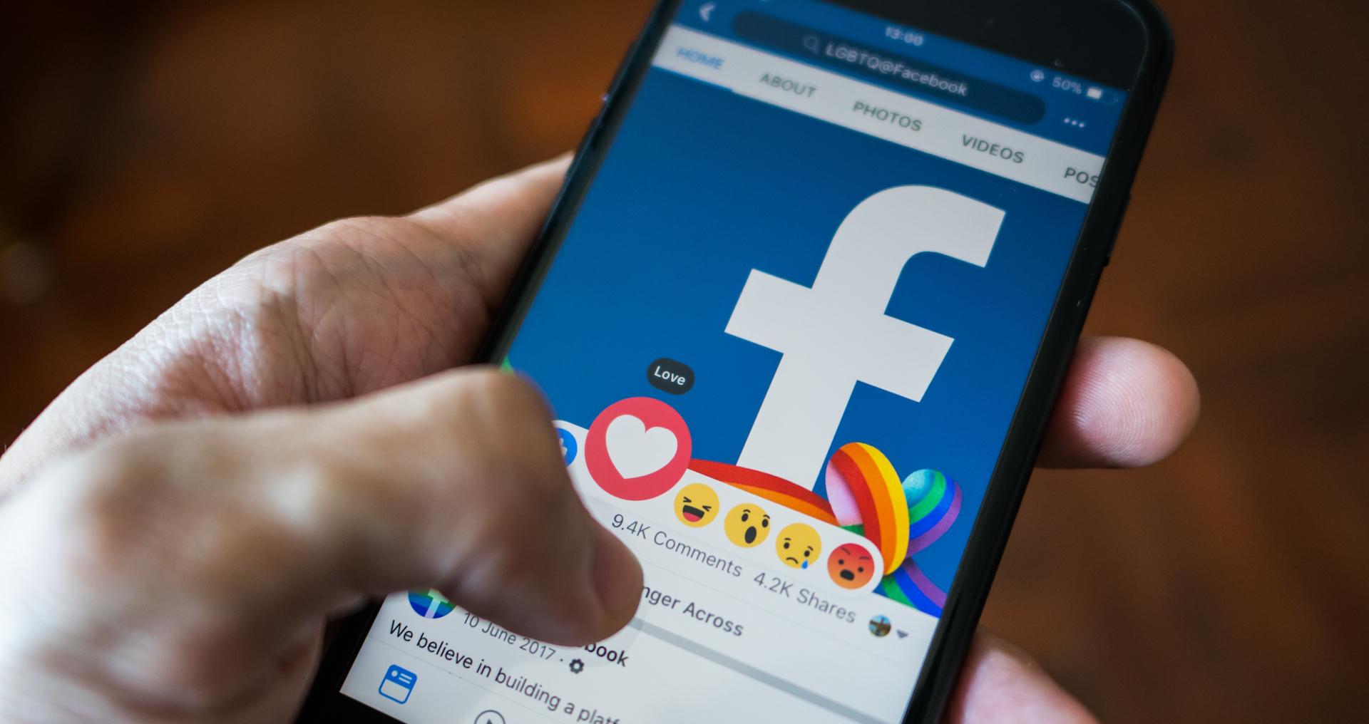 Facebook-periodismo
