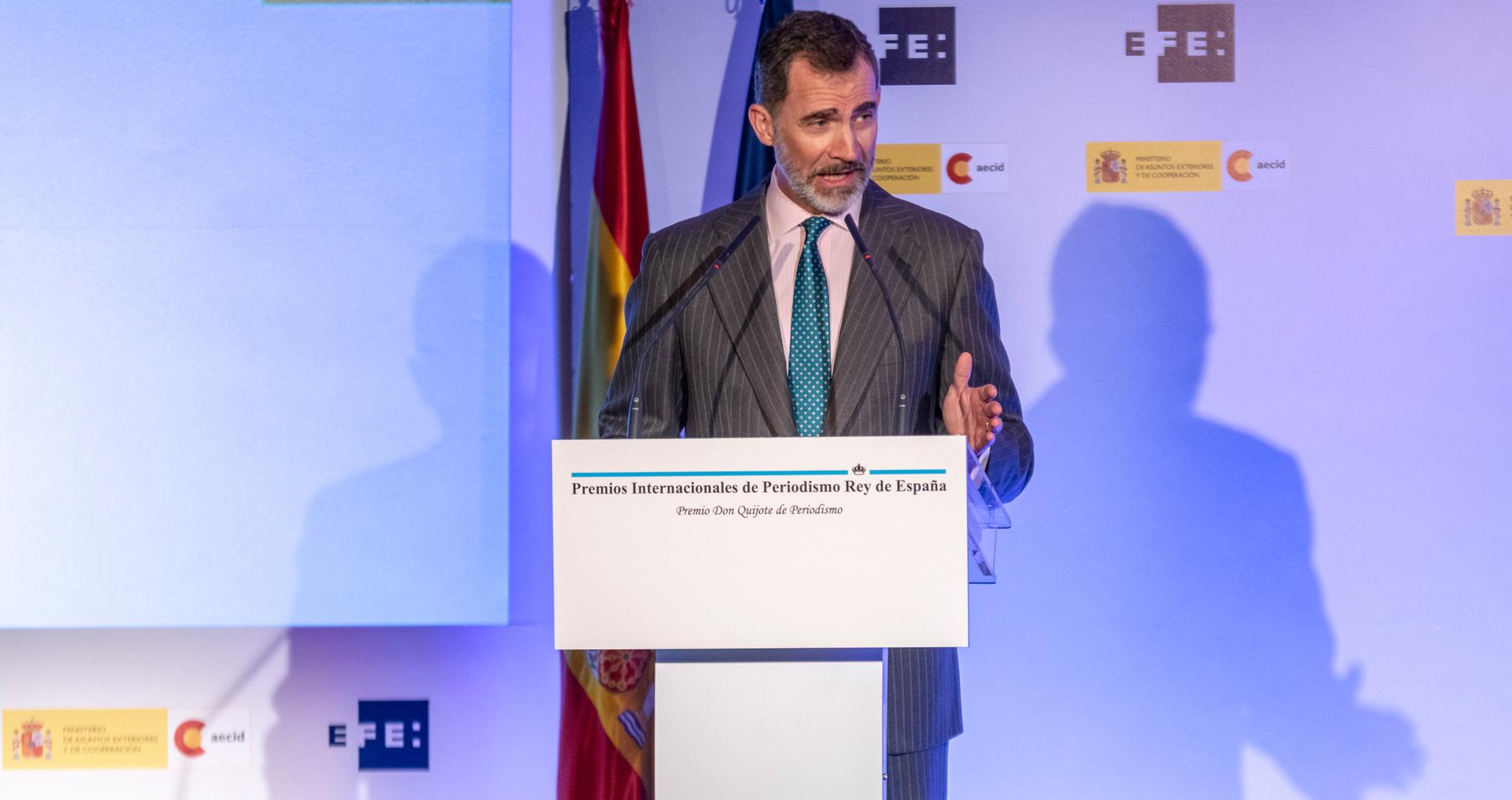 Premios periodismo Rey de España