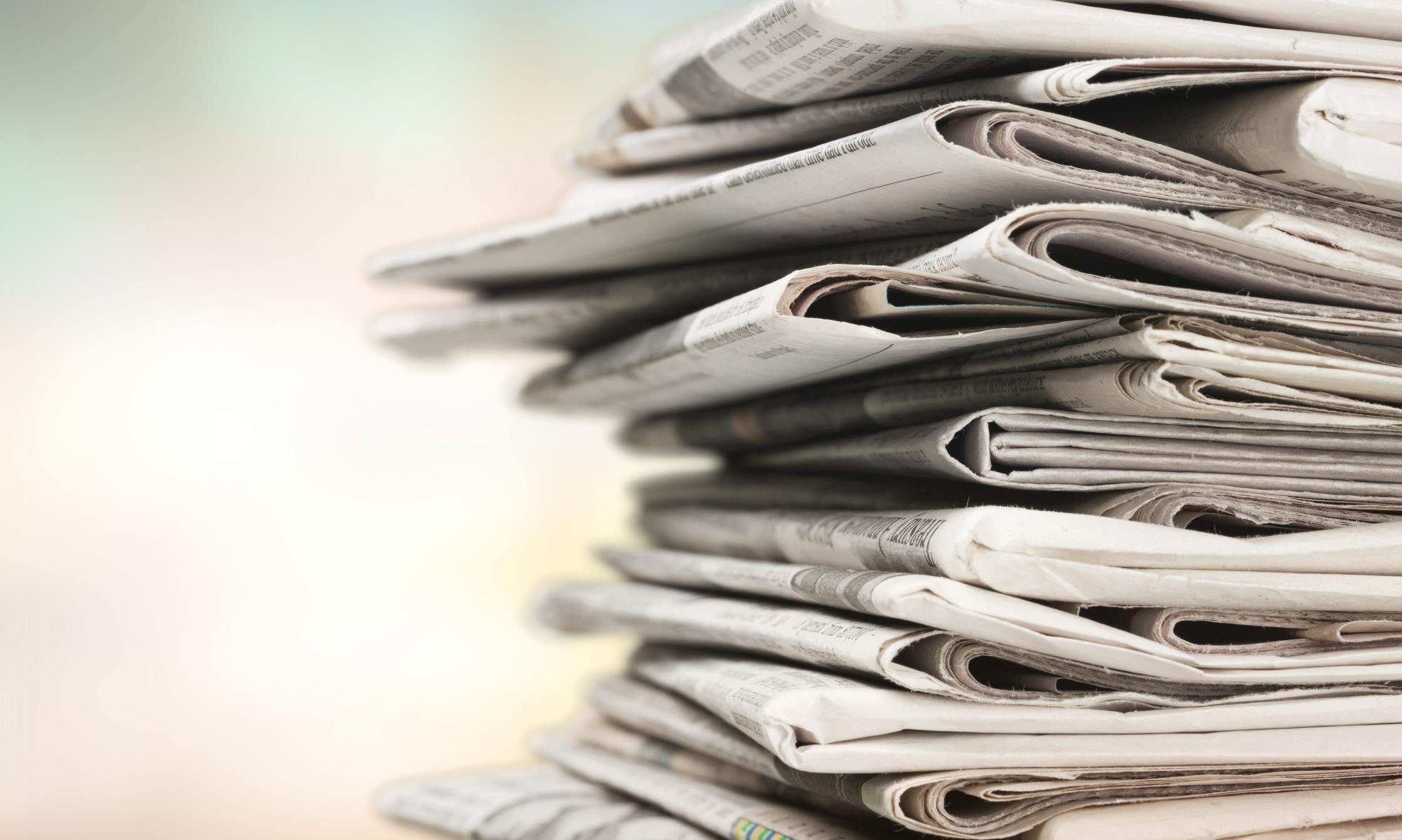 Suministro de periódicos