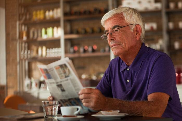 Hábito de la lectura de la prensa en los locales destinados a la hostelería
