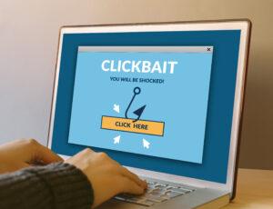 El nuevo sensacionalismo se llama 'clickbait'