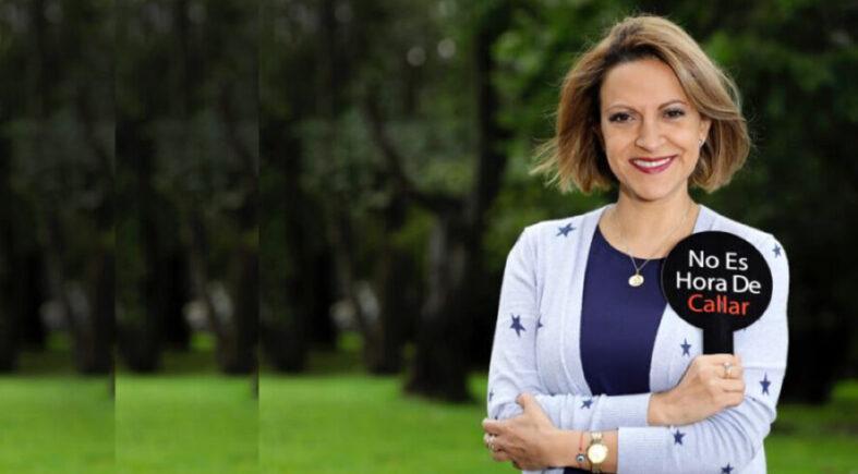 Jineth Bedoya Lima recibe la Pluma de Oro de la Libertad