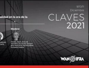 Resumen de la cuarta sesión del Congreso CLAVES 2021.