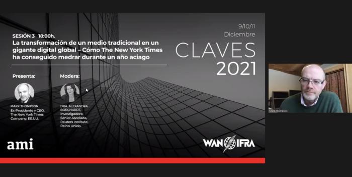Resumen de la sexta sesión del Congreso CLAVES 2021.