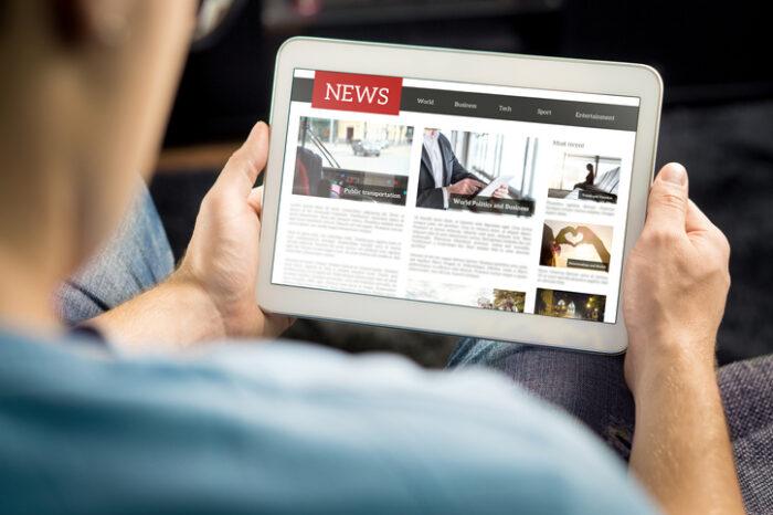Los lectores jóvenes pasan por alto las noticias